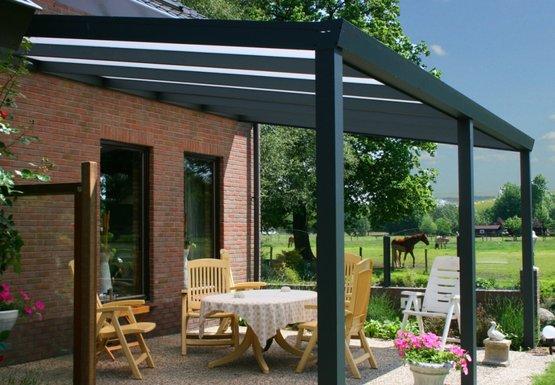 Veranda overkapping breda roosendaal etten leur assortiment van den broek - Prolongement toiture pour terrasse ...