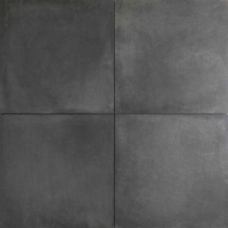 Concrete look 60x60x2cm Black