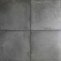Concrete look 60x60x2cm Dark Grey